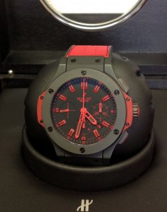 Hublot replica Big Bang 44mm 301.CI.1130.GR All Black Red93