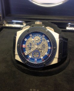Hublot replica King Power 'Special One' 701.NQ.0137.GR.SPO14 orologio copia2