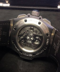 Hublot replica King Power 'Special One' 701.NQ.0137.GR.SPO14 orologio copia3
