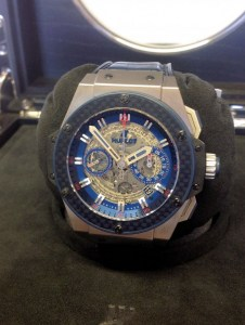 Hublot replica King Power 'Special One' 701.NQ.0137.GR.SPO14 orologio copia4