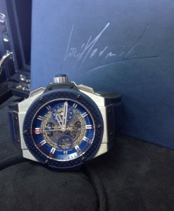 Hublot replica King Power 'Special One' 701.NQ.0137.GR.SPO14 orologio copia6