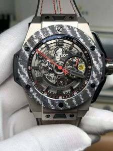 REPLICA HUBLOT BIG BANG FERRARI TITANIUM CARBON BEZEL WITH ASIA VALJOUX 7750