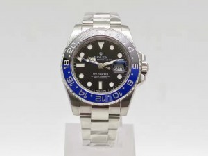 REPLICA ROLEX GMT MASTER II 116710 BLNR SUPER COPY 3186 MOVEMENT WITH BLUE BLACK CERAMIC BEZEL83