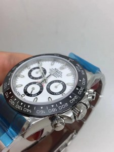 ROLEX DAYTONA REPLICA CERAMICHON WATCHES IN 2018 WITH 4130 FULLY CHRONOGRAPH MOVEMENT WHITE DIAL5