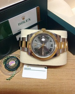Rolex replica Datejust 41 126333 Bi:Colour Wimbledon Dial6