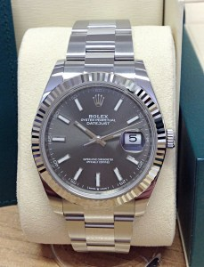 Rolex replica Datejust 41mm 126334 Rhodium Dial