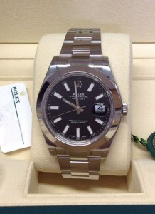 Rolex replica Datejust II 116300 41mm Black Dial479