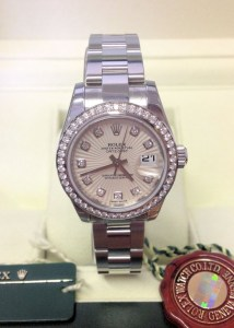 Rolex replica Datejust Lady 179384 26mm Diamond Bezel 2