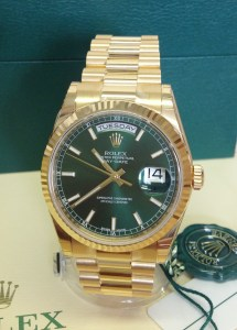 Rolex replica Day-Date 118238 Yellow Gold