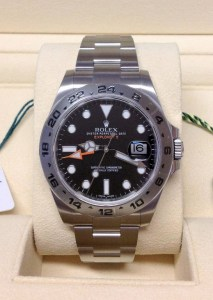 Rolex replica Explorer II 216570 42mm Black Dial orologio replica