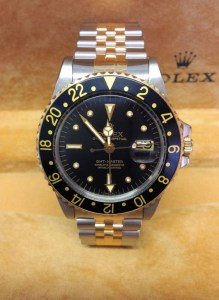 Rolex replica GMT Master 1675:3 Bi-Colour Nipple Dial 1978-1