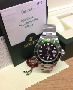 Rolex replica Submariner 16610LV 50th Anniversary5