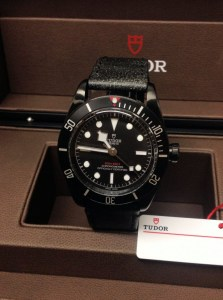 Tudor replica Heritage Black Bay Dark 79230DKb