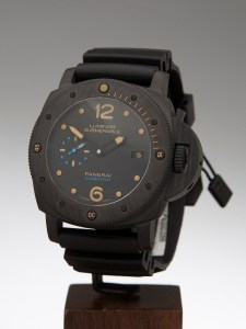 panerai submersible carbotech replica2