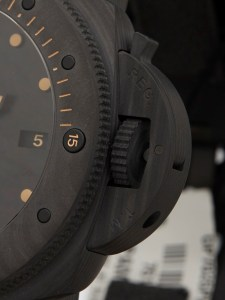 panerai submersible carbotech replica3