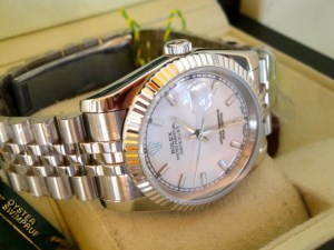 rolex replica datejust bianco barrette 7