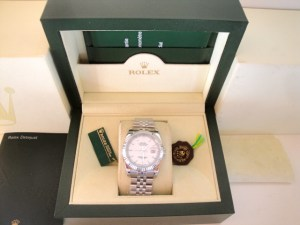 rolex replica datejust bianco barrette